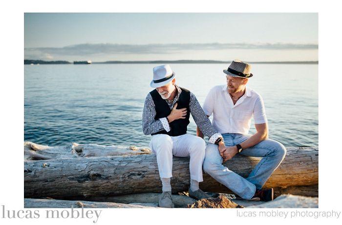 Lucas Mobey: fotos de noivos