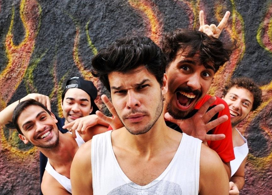 Samuel, Bento, Dinho, Sérgio e Julio.