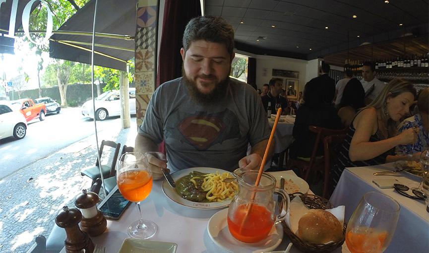 Ivan e seu bife