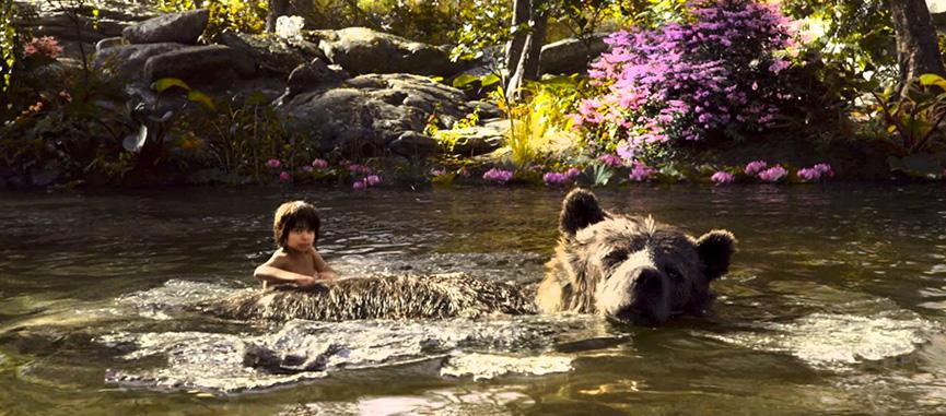 Mogli e Baloo somente o necessario