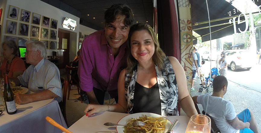 Olivier e Flávia