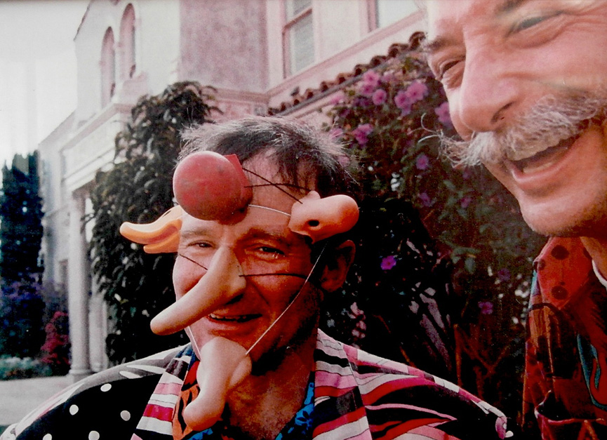 Patch Adams e Robin Williams