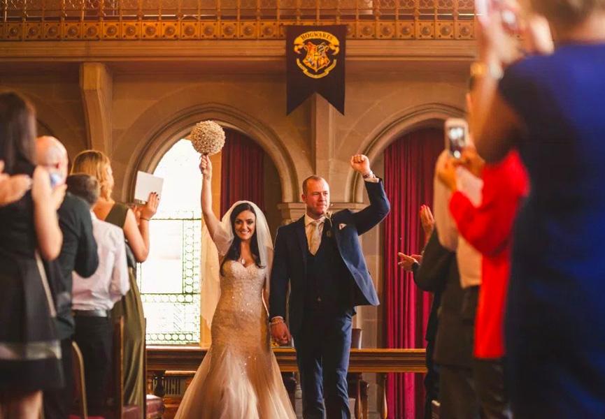 Casamento em Hogwarts