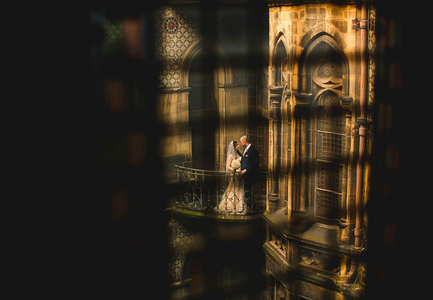 Noivos Castelo Manchester