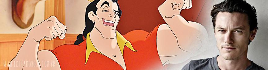 Luke Evans será Gaston
