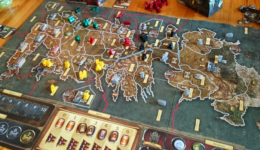 boardgame game of thrones