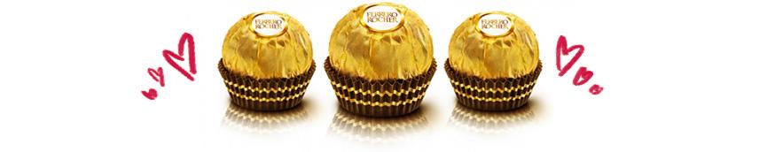 Muito amor por Ferrero Rocher