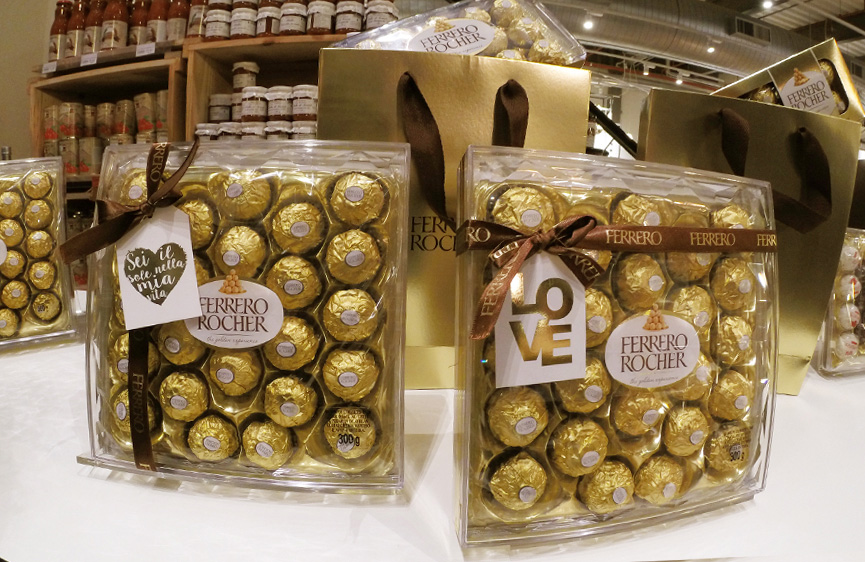 Ferrero Rocher para o dia dos namorados