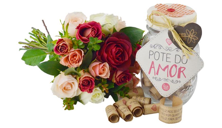 Dia dos Namorados Pote do Amor