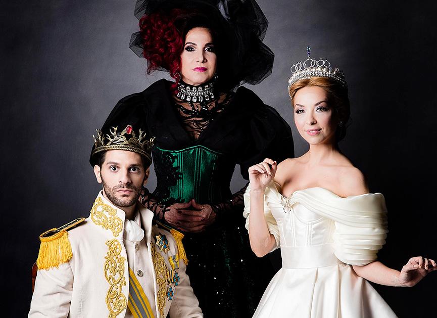 Cinderella, a madrasta e o príncipe Thorpe