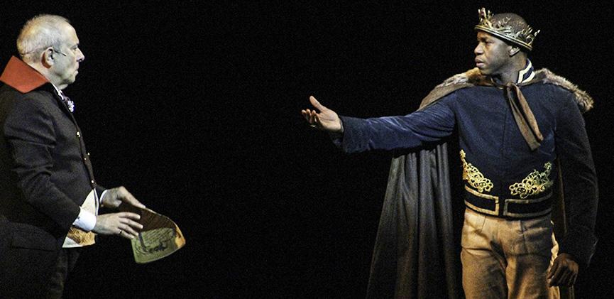Tiago Barbosa como o Príncipe Thorpe em Cinderella
