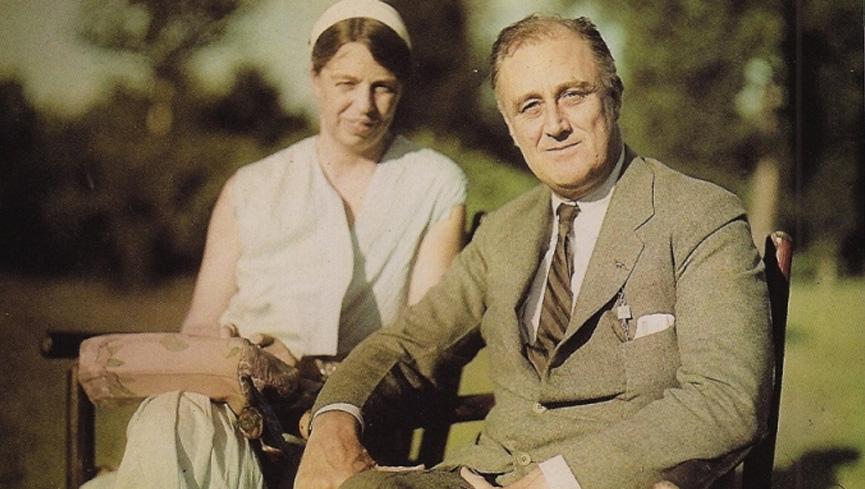 Franklin e Eleanor Roosevelt
