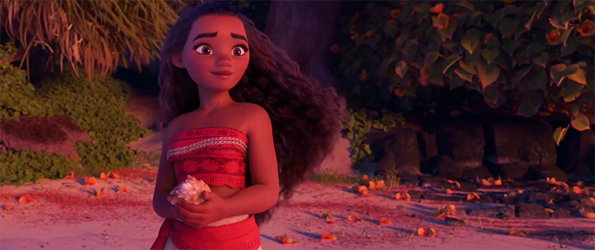 Moana, a nova princesa da Disney