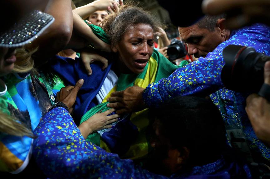 Rafaela Silva ganha primeira medalha de outro brasileira
