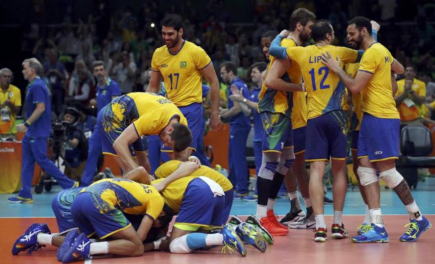 Brasil campeão vôlei no Rio 2016