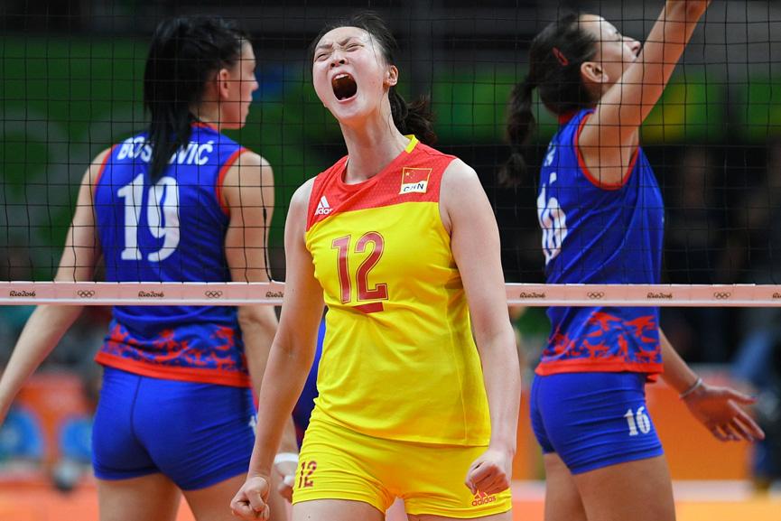China comemora o ouro no Volley feminino - Rio 2016