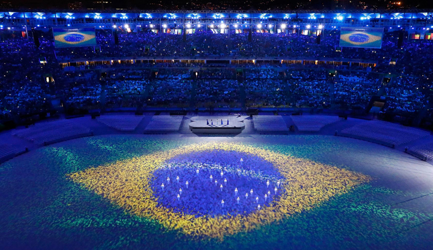 Encerramento dos Jogos Olímpicos no Maracanã