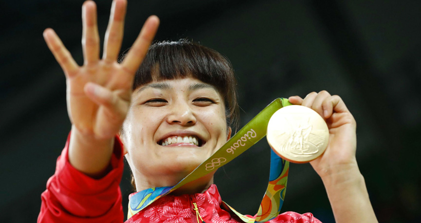 Kaori Icho, primeira mulher a conquista quatro medalhas em uma mesma Olimpíada - Rio 2016