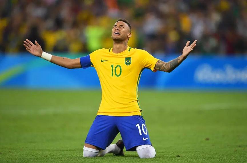 Neymar campeão olímpico - Rio 2016