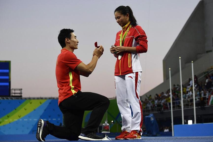 Pedido de casamento - Rio 2016