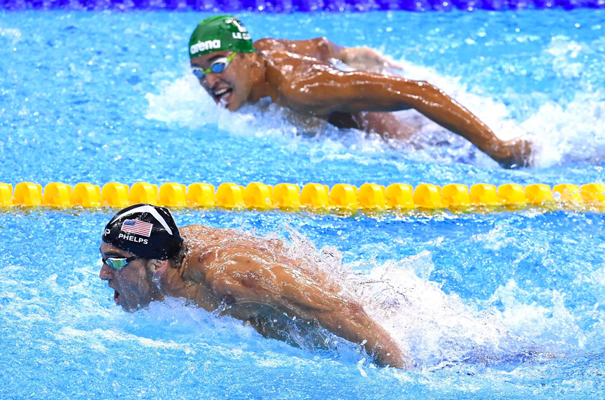 Phelps vs le Clos