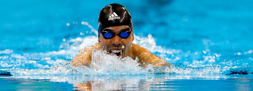 Daniel Dias, maior medalhista paralímpico do Brasil