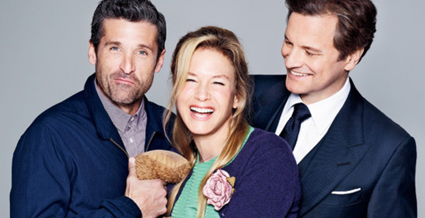 Colin Firth, Renée Zellweger e Patrick Dempsey