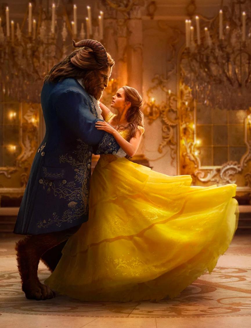 Dança em A Bela e a Fera