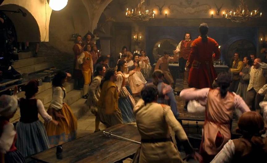 Gaston na taverna - A Bela e a Fera