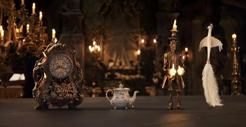 Lumiere, Sr Pots e Cogsworth - A Bela e a Fera