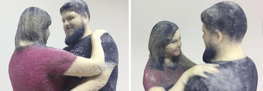 Bonecos personalizados de casal - Muito amor!