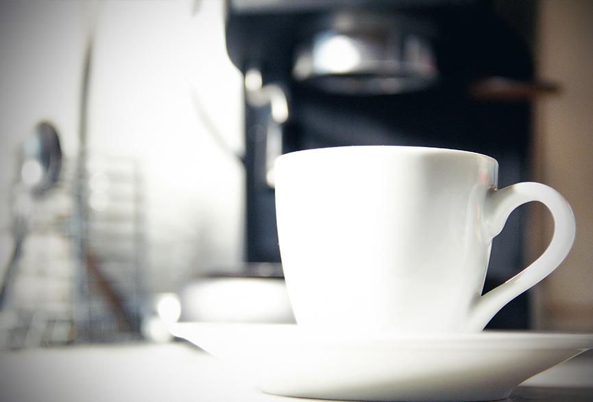 Café pela manhã