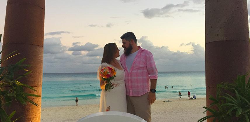 Casamento no Krystal Cancun