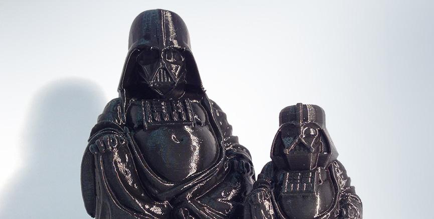 Buda em versão Darth Vader
