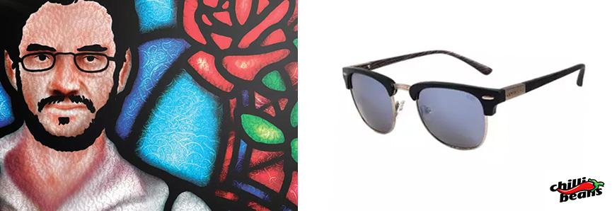 Óculos Chilli Beans - Coleção Legião Urbana