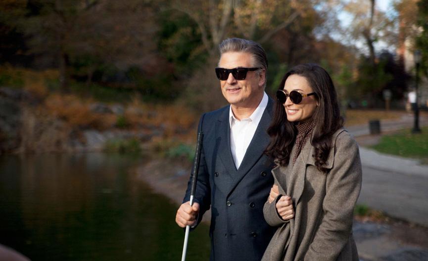 Alec Baldwin e Demi Moore em Blind