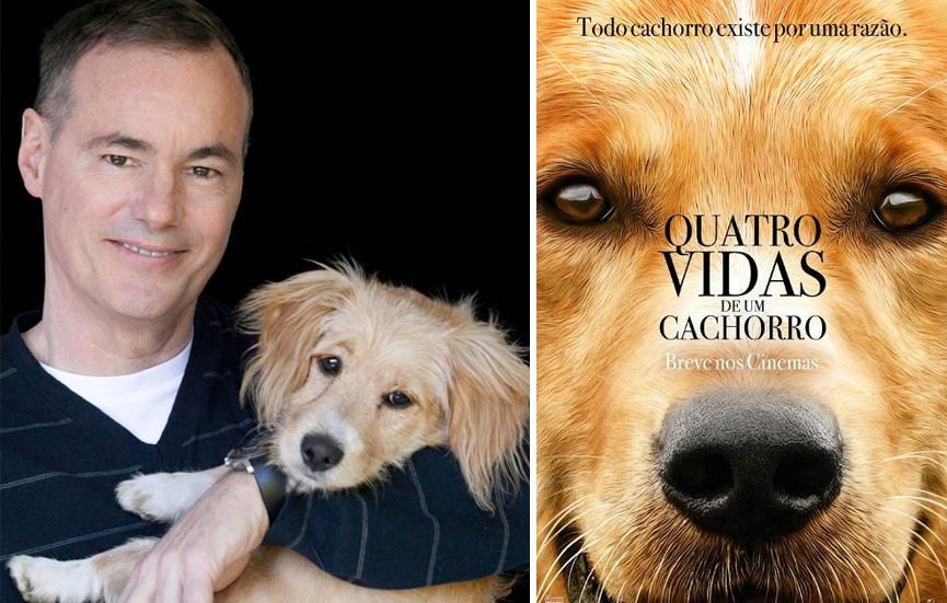 O autor Bruce Cameron fala sobre polêmica de Quatro Vidas de um Cachorro