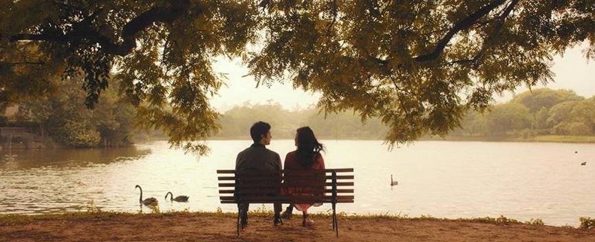 Mateus Solano e Thaila Ayala no bonito Talvez uma história de amor