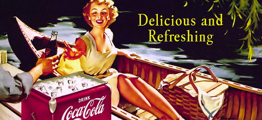 Coca-Cola propaganda antiga