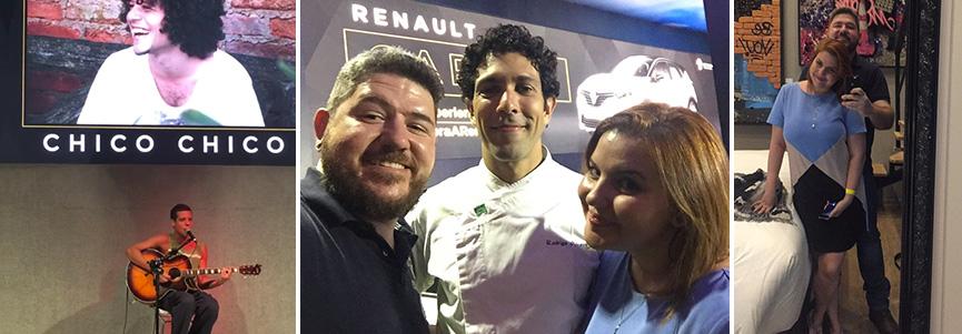 La Maison Renault com Chico Chico e Rodrigo, do Mocotó