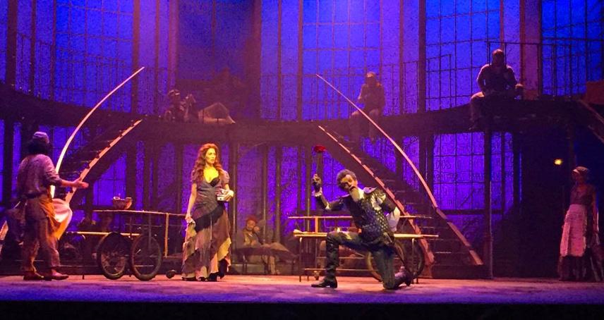 Homem de La Mancha: Cleto Baccic e Sara Sarres