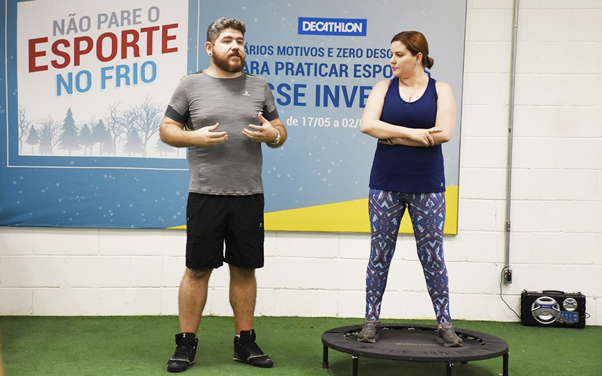 #exerciteoamor na Decathlon