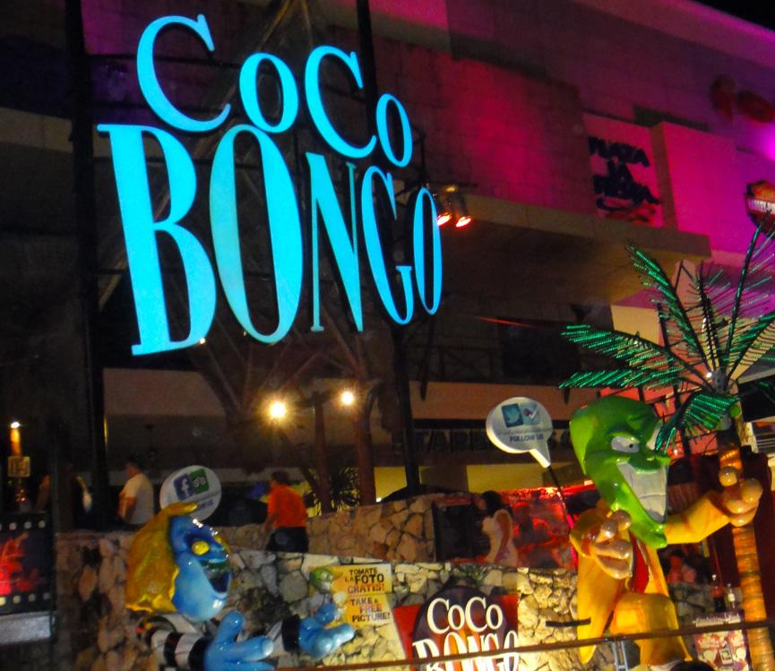 Coco Bongo em Cancun