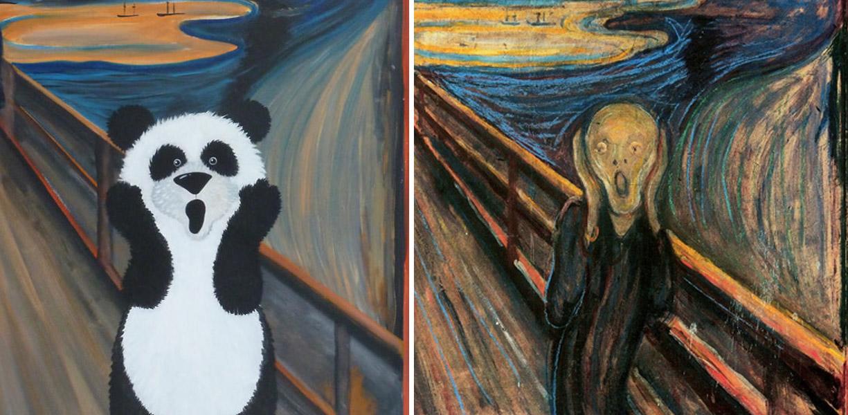 Grandes obras de arte para pequenos apreciadores for Pinterest obras de arte